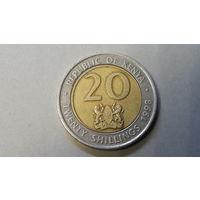 20 шиллингов 1998. Кения