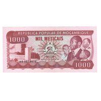 Мозамбик 1000 метикалс 1983 года. Состояние UNC!