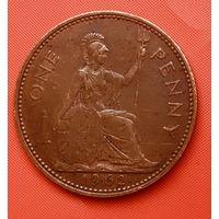 23-07 Великобритания, 1 пенни 1962 г.