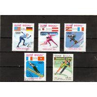 Гвинея-Биссау.Спорт.Зимние олимпийские игры.Сараево.1984.