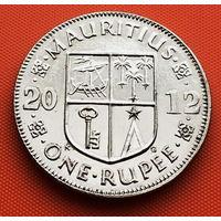 118-10 Маврикий, 1 рупия 2012 г.