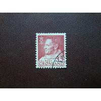 Гренландия 1963 г. Фредерик IX.