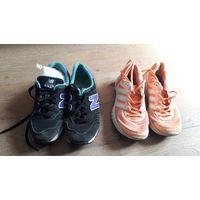 Женские кроссовки New Balance 373 и Adidas Duramo 6