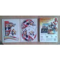 Всемогущие рейнджеры битвы века диски-CD 2 шт.  Игра на компьютер.