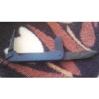Нож электрика. Перочинный,складной , металлический ножик СССР.