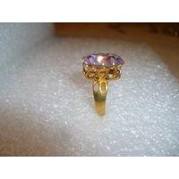Перстень Клеймо Цветной Металл Позолота