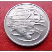 20 центов Австралия 1977 год - из коллекции