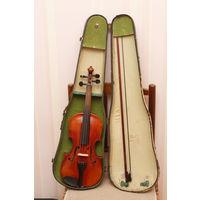 Скрипка старинная нерабочая