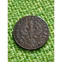 Польша 1 грош 1927