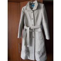Пальто женское, теплое, отличное качество, состояние, р-р 46