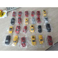 СУПЕР ЦЕНА Ferrari Micro Cars масштаб 1:100 Желтая и Красная упаковка.