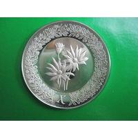 США. Franklin Mint 1979. 925пр. 11гр.  Серебряное блюдце X .      S.6