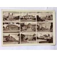 Открытка старинная Венгрия Дебрецен Debrecen Города страны 4