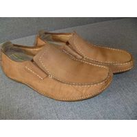 Мужские туфли-мокасины Clarks