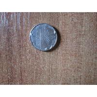 Монета 1 рубль 2009 года.Брак.