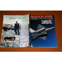 Авиационный журнал AVIATION WEEK & SPACE TECHNOLOGY сентябрь 1990