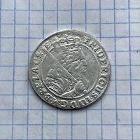 Монета Орт 1/4 талера 1699 г. (Пруссия) Фридрих Вильгельм РЕДКИЙ Идеальный
