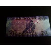Соломоновы острова 20 долларов UNC