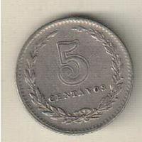 Аргентина 5 сентаво 1942