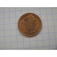 Зимбабве 1 цент 1997г.km1a