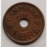 Дания 1 эре 1939