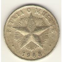 Куба: 1песо 1988 г.
