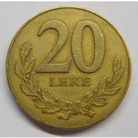 Албания 20 леков 2000 г