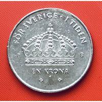 20-05 Швеция, 1 крона 2002 г.