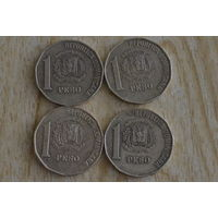 Доминикана 1 песо 2002