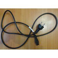 Силовой кабель 220В для ноутбучного зарядного б.у