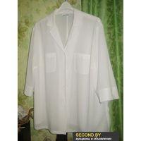 Блузка белая GERRY WEBER р.54
