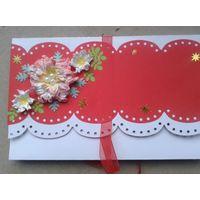 Открытка ручной работы Поздравляем распродажа (можно использовать как конверт для денег)
