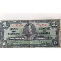 1 канадский доллар 1937 года