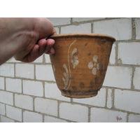 Горшок для цветов глина