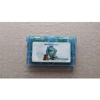 Картридж GameBoy Advance Monsters Inc не оригинал