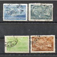 В. Беринг СССР 1943 год серия из 4-х марок