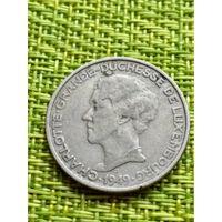 Люксембург 5 франков, 1949 год