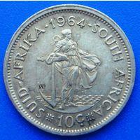 6583:  10 центов 1964 ЮАР