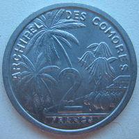 Коморские острова (Коморы) 2 франка 1964 г.