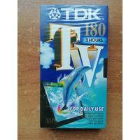 Видеокассета чистая TDK 180. Япония.