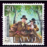 1 марка 2004 год Латвия 607