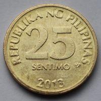 Филиппины, 25 сентимо 2013 г
