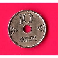 16-09 Норвегия, 10 эре 1938 г.