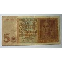 Геомания. 5 марок 1942г.