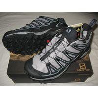 Туристические кроссовки Salomon X Ultra 2 W Spikes GTX  Цвет - серый. Размер - 38-38,5, 25,5см по стельке (UK7, EUR40 2/3, USA8.5, JAP25.5)  Технология кроссовок этой модели сочетается с зимними элеме