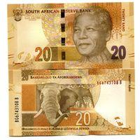 ЮАР 20 рандов образца 2012 года UNC P134(2)