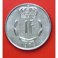 19-25 Люксембург, 1 франк 1978 г.