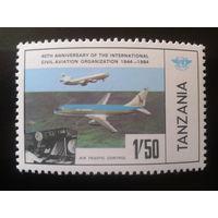 Танзания 1984 самолеты