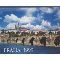 КАЛЕНДАРЬ НАСТЕННЫЙ ПЕРЕКИДНОЙ, ПРАГА 1999г.