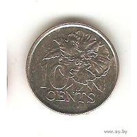 10 центов 2005 Тринидад и Тобаго